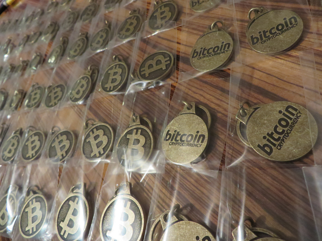 Symbolische Bitcoins
