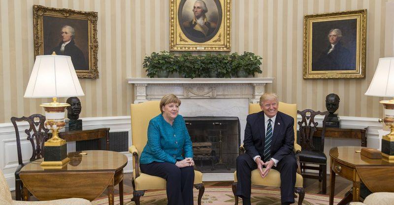 Angela Merkel in Washington