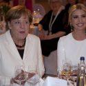 Angela Merkel und Ivanka Trump in Berlin