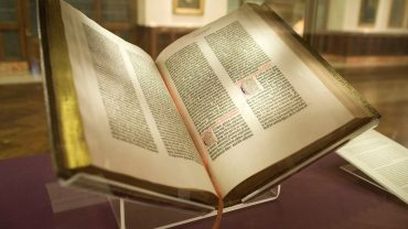 Druckerpresse: Gutenberg-Bibel