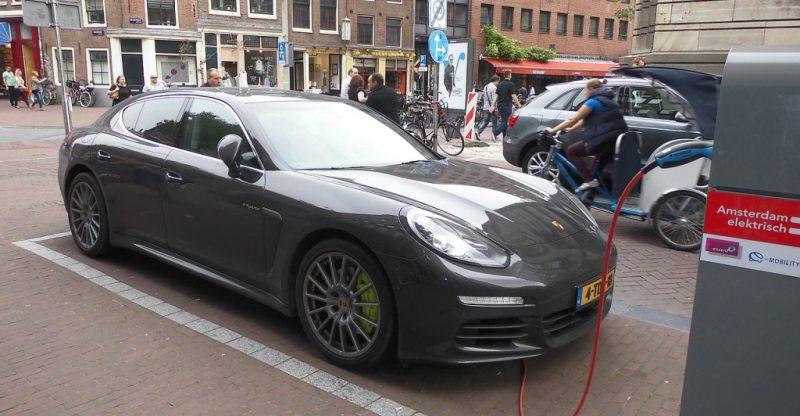 Elektroauto von Porsche